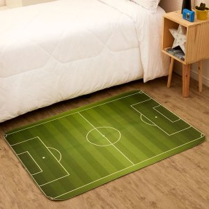 Tapete Infantil em Transfer 95x1,30m Multi-Uso Futebol