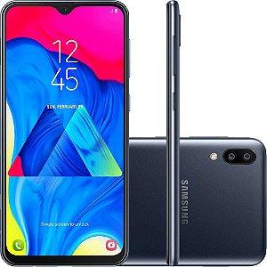 "Smartphone Samsung Galaxy M10 32GB Dual Chip Android 8.1 Tela 6,2"" Octa-Core 4G Câmera 13+5MP - Preto"