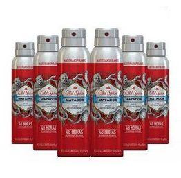 Kit 06 Desodorantes Antitranspirantes Old Spice Matador - 150ml