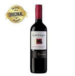 Vinho Chileno Tinto Seco Cabernet Sauvignon Garrafa 750ml - Gato Negro