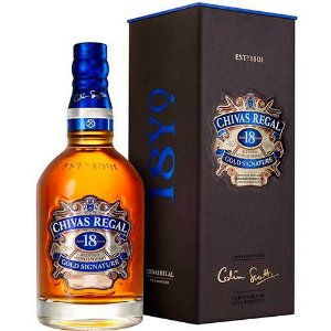 Whisky Chivas Regal 18 anos - 750ml