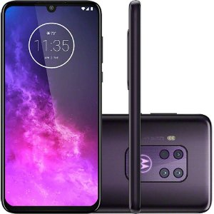 "Smartphone Motorola One Zoom 128GB Dual Chip Android Pie 9.0 Tela 6.4"" Qualcomm Snapdragon 675 (SM6150) 4G Câmera 25MP"