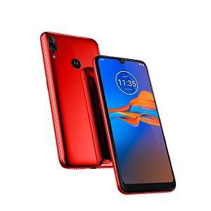 """Smartphone Motorola Moto E6 Plus 32GB, Tela Max Vision de 6.1"""", Câmera Traseira Dupla, Android 9.0, Processador Octa-Core e 2GB de RAM"""