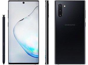 "Smartphone Samsung Galaxy Note 10+ 256GB - 4G - 12GB RAM 6,8"" Câm. Quadrupla + Câm. Selfie 10MP"