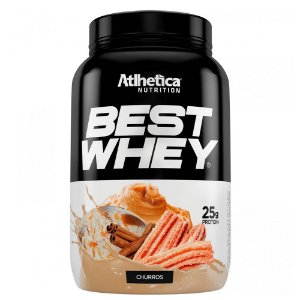 Best Whey - Sabor Churros - Atlhetica Nutrition 900g