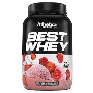 Best Whey Atlhetica Nutrition - Sabor Morango -  900g