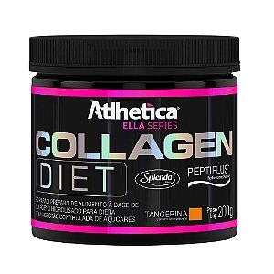 Collagen Diet Ella Series - 200g Tangerina - Atlhetica Nutri
