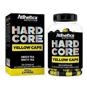 Hardcore Yellow Caps 120 Cápsulas - Atlhetica Nutrition