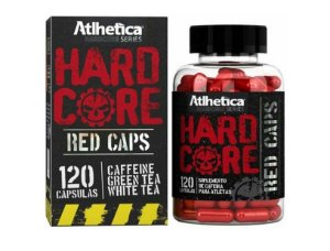 Hardcore Red Caps 120 Cápsulas - Atlhetica Nutrition