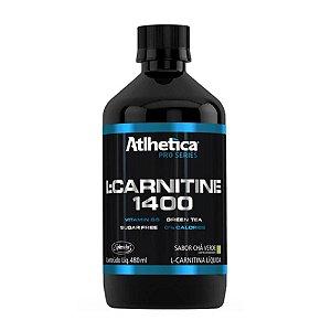 L Carnitine 1400- Sabor Chá Verde - Atlhetica Nutrition - 480ml