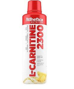 L Carnitine 1400- Sabor Abacaxi - Atlhetica Nutrition - 480 ml