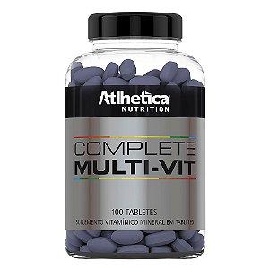 Complete Multi-Vit 100 Tabs - Multivitamínico - Atlhetica E
