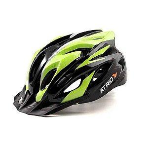 Capacete para Ciclismo MTB Inmold 2.0 Viseira Removível 19 Entradas de Ventilação Neon Atrio Tam. G - BI175
