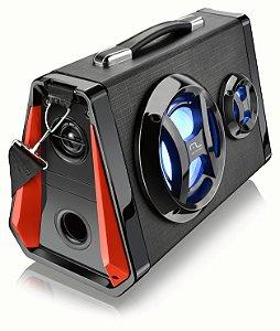 Caixa De Som Bluetooth Led Multilaser - SP217
