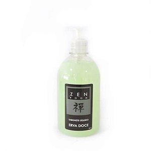 Sabonete Liquido Perolizado Erva Doce 500ml Zen Room ZRS001