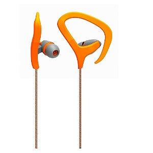 Fone de Ouvido Auricular Fitness Laranja Multilaser - PH167