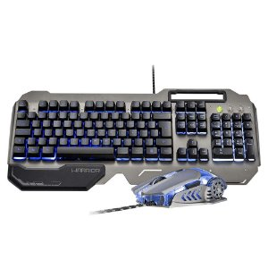 Combo Teclado e Mouse Warrior Ragnar Keon Gamer - TC223