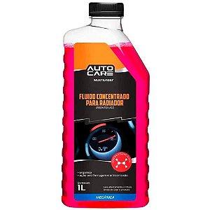 Aditivo De Radiador Organico Autocare Rosa Pronto Uso 1L - Au450