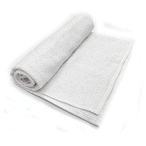 Toalha De Banho Barra - Cor Branca 68cm X 1,28m