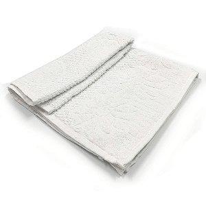 Toalha De Banho Luxo ? Cor Branca 68cm X 1,36m