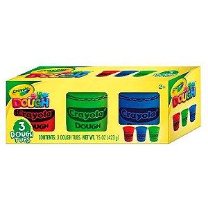 Crayola Massa de Modelar com 3 Cores Sortidas (423g) Indicad