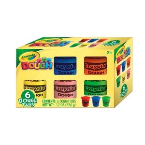 Crayola Massa de Modelar com 6 Cores Sortidas (336g) Indicad