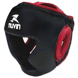 Protetor de Cabeça – PTC-100 G/GG - Preto/Vermelho - Muvin