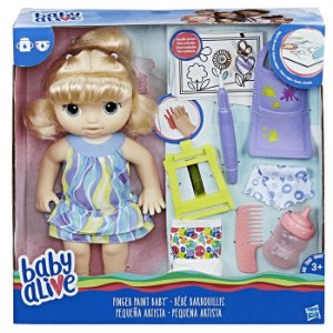 Baby Alive Pequena Artista Loira Hasbro - C0960