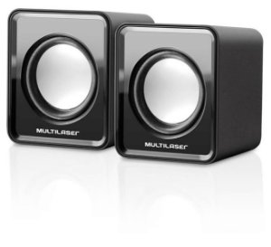 Caixa De Som 2.0 Mini 3w Rms Multilaser - Sp144