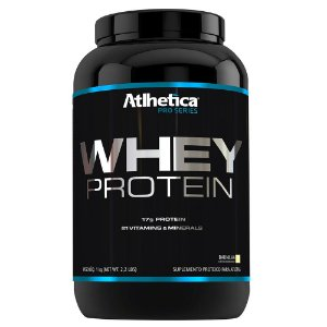 Whey Protein Pro Series 1 Kg- Sabor Baunilha - Atlhetica Nutrition