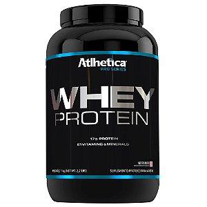 Whey Protein Pro Series 1 Kg- Sabor Morango - Atlhetica Nutrition