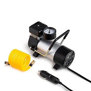 Compressor de Ar Automotivo 12V Vazão 20L/min Pressão de 1
