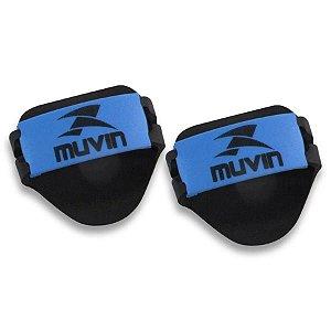 Luvas Musculação em EVA – LVA-100 - Preto/Azul - Muvin