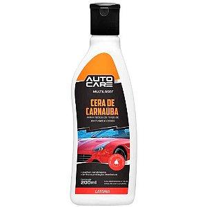 Cera Carnauba Liquida Autocare 200Ml S/ Abrasivo - AU443
