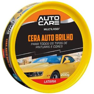 Cera Autobrilho Autocare Pastosa Lata 200G - AU445