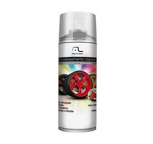 Envelopamento Líquido Prata em Spray Au4 - 400ml
