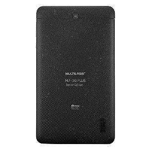 Tablet Multilaser M7 3G Plus Sênior 1Gb Ram Câmera 2.0 Mp+
