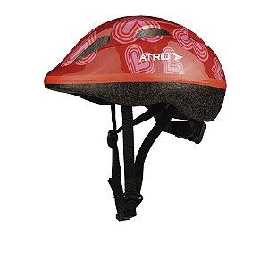 Capacete Infantil Ciclismo Bike 2-5 Anos Pp Atrio - BI039
