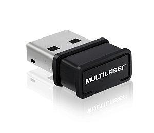 Adaptador Wireless USB Nano 150Mbps Multilaser - RE035