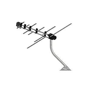Antena Externa de TV VHF/UHF BANDA III, IV e V - Multilaser
