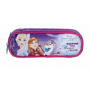 Estojo Frozen - 2 divisórias - Dermiwil - 30179