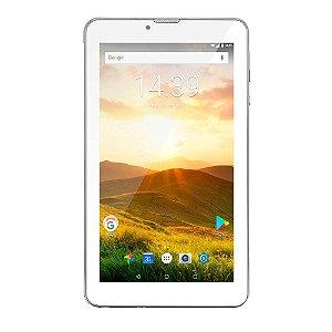 Tablet M7 4G Plus Quad Core 1 Gb De Ram Câmera Tela 7 - PRATA