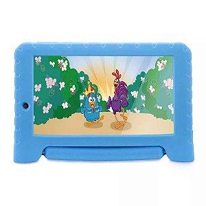 Tablet Galinha Pintadinha Plus Quad Core 1GB RAM Wifi 7 Pol