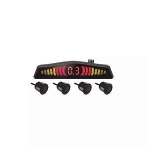 Sensor de Estacionamento com Led 4 pontos Mutilaser Preto -