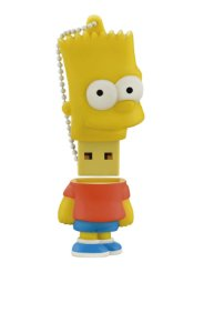 Pen Drive Simpsons Bart 8gb Multilaser - PD071