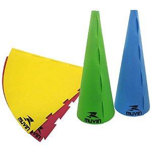 Cone de Marcação – 75cm – MTF-500 - 75cm x 30cm - Azul