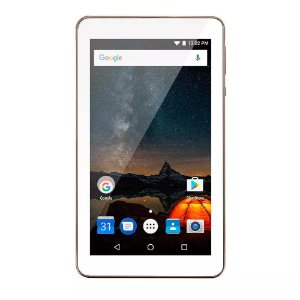 Tablet Multilaser M7S Plus Quad Core Câmera Wi-Fi 1 GB de R