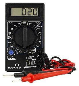 Multimetro Digital Multiuso para Medições Elétricas Multi