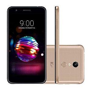 """Smartphone LG K11+ 32GB Dual Chip Android 7.1.2 Tela 5.3"""" Octa Core 1.5 Ghz 4G Câmera 13MP - Dourado"""