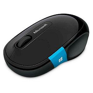Mouse Sculpt Comfort Sem Fio Bluetooth Preto Microsoft - H3S